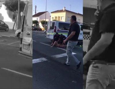 Detenida en Lepe tras impactar su coche contra otro vehículo y bailar en bikini ante la policía