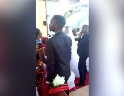 Sorprende a su marido en mitad de una boda multitudinaria: él se estaba casando con otra mujer