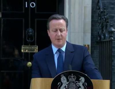 El discurso de David Cameron en el que dimite por el Brexit