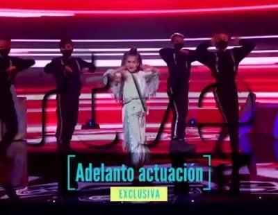 Primeros segundos de la actuación de Soleá en Eurovisión Junior 2020 con su 'Palante'