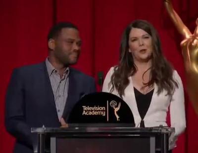 La reacción de Anthony Anderson al descubrir en directo su nominación a los Emmy 2016