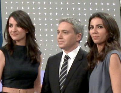 Ana Pastor, Vicente Vallés y Esther Vaquero en la presentación de '7D: El Debate decisivo'