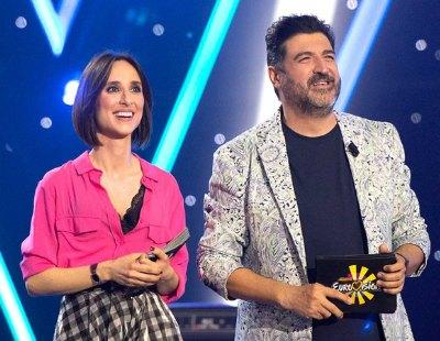 Tony Aguilar y Julia Varela, preparados para comentar Eurovisión 2021 en RTVE