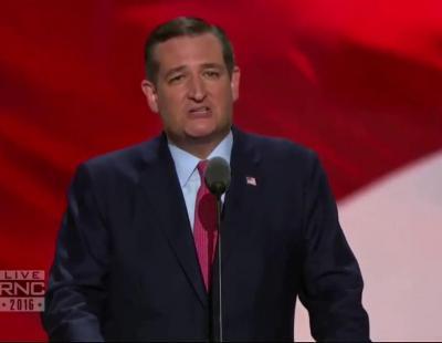 El público abuchea a Ted Cruz en la Convención del Partido Republicano