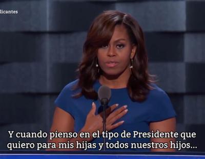 El discurso por el que están pidiendo que Michelle Obama sea Presidenta en 2020