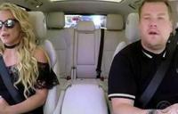 Britney Spears salió airosa del Carpool Karaoke con James Corden