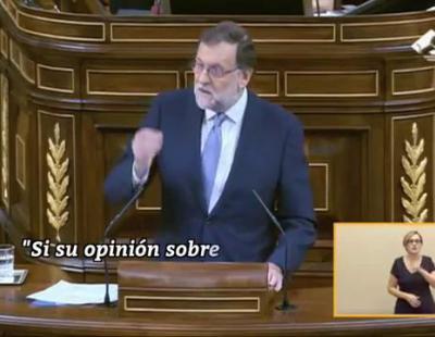 Rajoy vuelve a trabarse en su primera votación de investidura