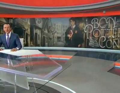 Matías Prats y los seguidores 'encantados' de 'Harry Potter'