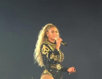 La pedida de mano de una bailarina de Beyoncé durante 'Single Ladies'